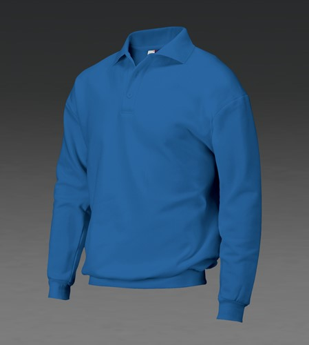 Tricorp 301005/PSB280 Polosweater Boord - 5000 - Kobalt - XS